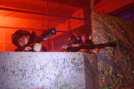 Łódź Atrakcja Paintball laserowy Alfa Laser Game