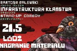 Łódź Wydarzenie Kabaret Infrastruktura Kłamstwa