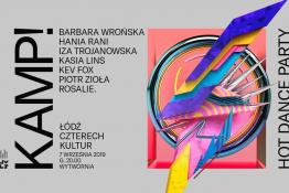 Łódź Wydarzenie Festiwal KAMP! Hot dance party. FŁ4K
